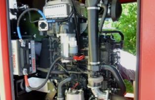 Mobilní motorgenerátor pro ČOV NEJDEK 4