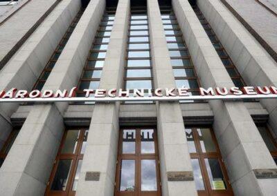 Napájecí sítě pro Technické muzeum