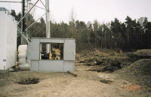 Realizace napájení vysílačů mobilní sítě OSKAR 4