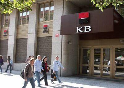 Napájecí a datové sítě KB a.s.