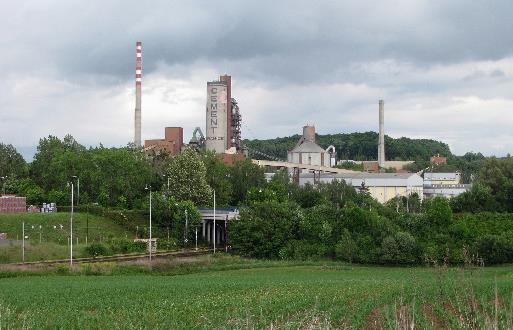 Realizace ochrany napájecích a datových sítí v Cementárnách 1