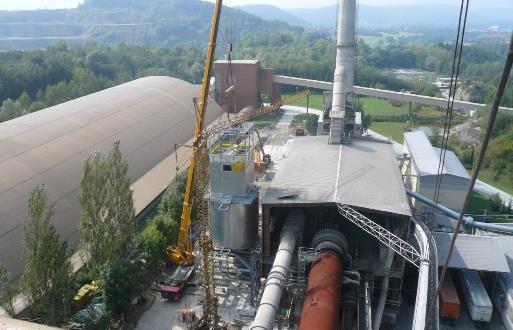 Realizace ochrany napájecích a datových sítí v Cementárnách 2