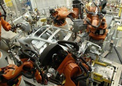 Napájení výrobních linek ŠKODA AUTO