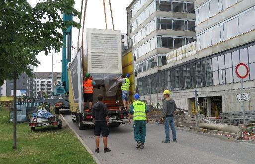 Realizace zálohování budovy KB Praha 5 Britská čtvrť 2