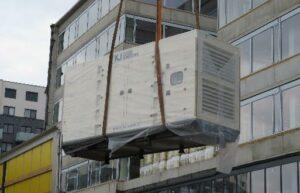 Realizace zálohování budovy KB Praha 5 Britská čtvrť 3