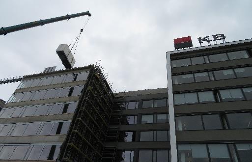 Realizace zálohování budovy KB Praha 5 Britská čtvrť 4