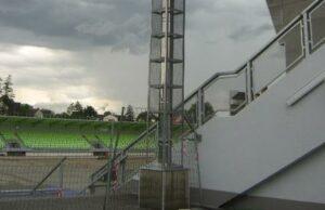 Realizace zálohování fotbalového stadionu v Karviné 4