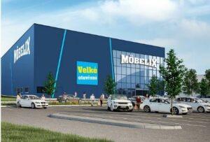 Realizace zálohování obchodního centra Möbelix 3