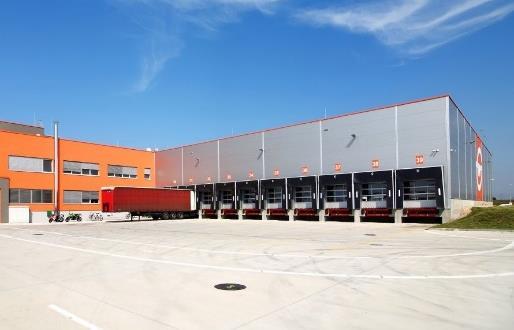 Realizace zálohování objektu Logistického centra u Brna 1
