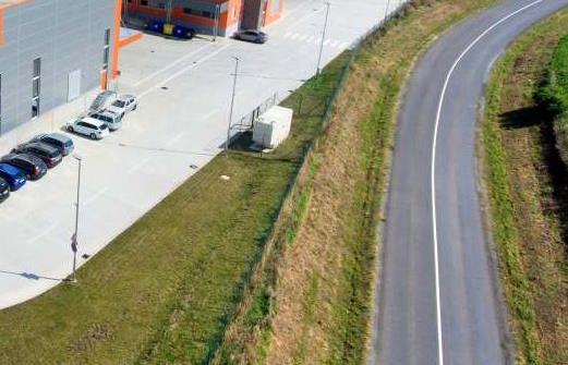 Realizace zálohování objektu Logistického centra u Brna 2