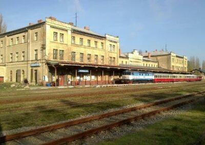 Síť železničních stanic