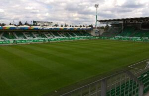 Realizace zálohování stadionu Fürth Německo 1