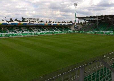 Fotbalový stadion Fürth, Německo