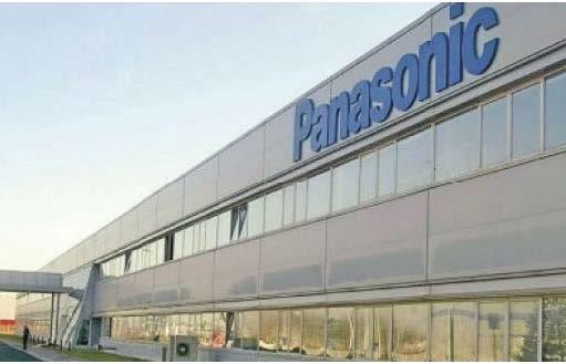 Realizace zálohování výroby PANASONIC v ČR 2