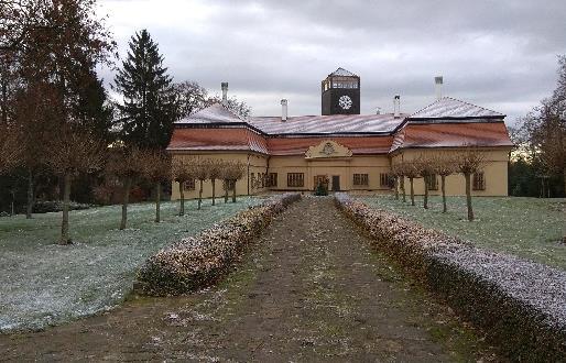 Realizace zálohování zámku KAMENICE u Jičína 1