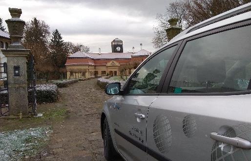 Realizace zálohování zámku KAMENICE u Jičína 2