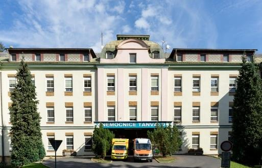 Realizace zálohovaného napájení nemocnice Tanvald 1