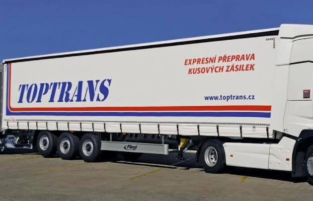 Logistické centrum TOPTRANS Hostivař