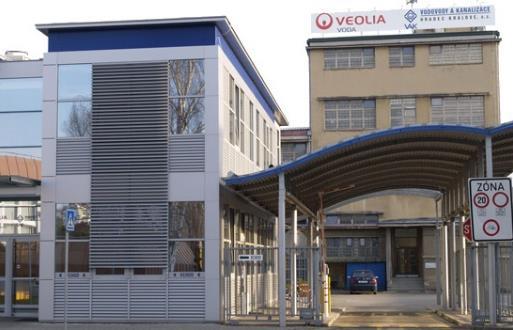 Zálohování technologií pro krizové centrum VEOLIA 1