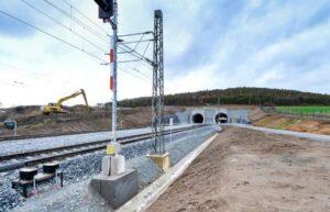 Zálohování technologie pro železniční tunel Ejpovice 1