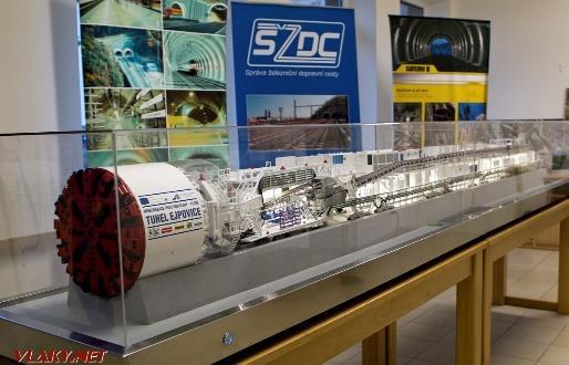 Zálohování technologie pro železniční tunel Ejpovice 3