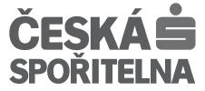 logo Česká Spořitelna BW