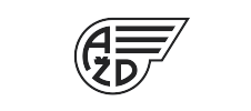logo AŽD BW