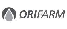 logo Orifarm BW