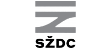 logo SŽDC BW
