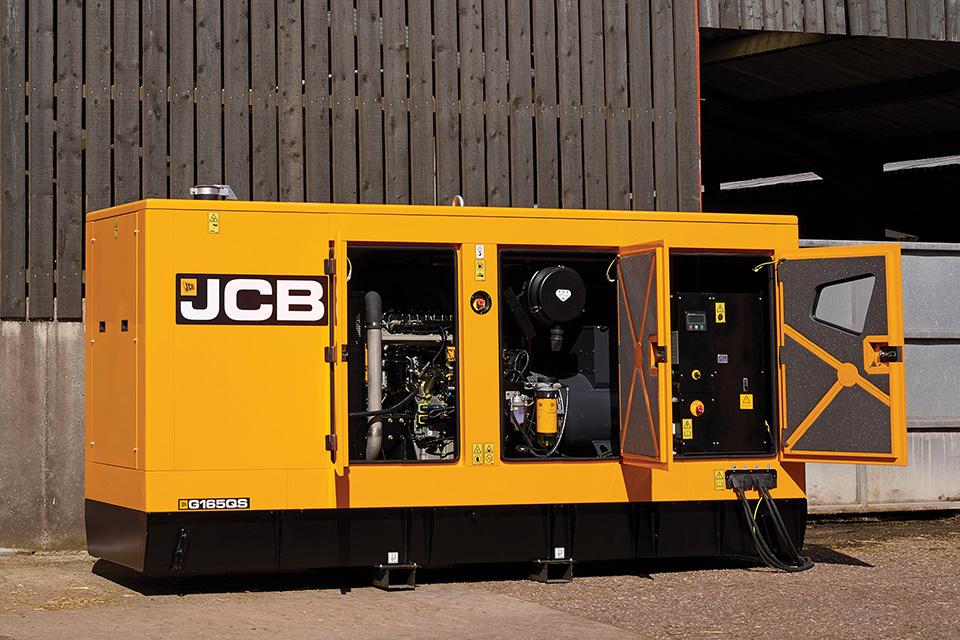 Motorgenerátor JCB