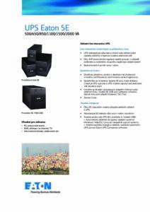 Eaton 5E CZ pdf