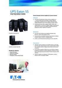 Eaton 5S CZ pdf