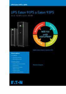 Eaton 91PS a 93PS CZ pdf