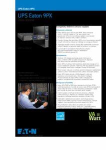 Eaton 9PX 1 3kVA CZ pdf