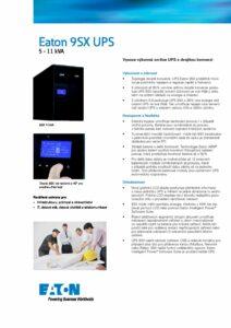 Eaton 9SX 5 11 kVA CZ pdf