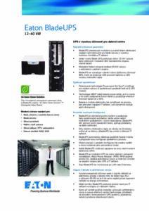 Eaton BladeUPS CZ pdf