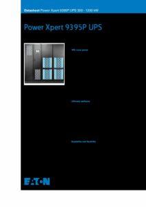 Eaton Power Xpert 9395P EN pdf