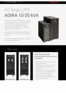 Effekta ADIRA 10 20kVA EN pdf
