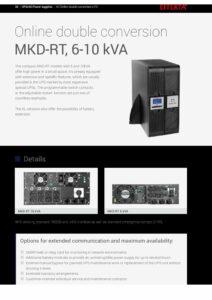 Effekta MKD RT Series 6 10kVA EN pdf