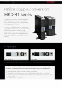 Effekta MKD RT Series 700 3000VA EN pdf