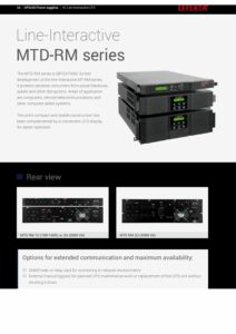 Effekta MTD RM Series EN pdf