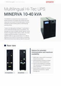 Effekta Minerva EN pdf