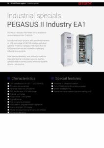 Effekta PEGASUS II Industry EA1 EN pdf