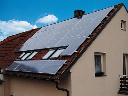 FVE Šeberov 594 kWp