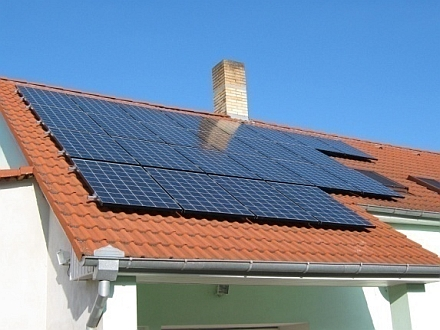 FVE Chrášťany 492 kWp