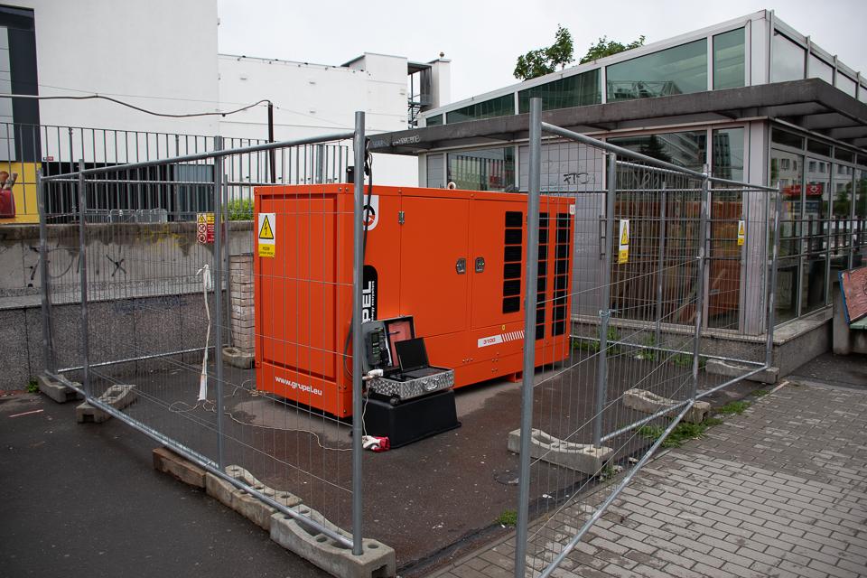 Speciální projekt Silektro s.r.o. na pomoc se zálohováním elektrické energie při přípravě stavby Metra D v Praze
