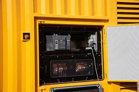 Připojení dieselagregátů