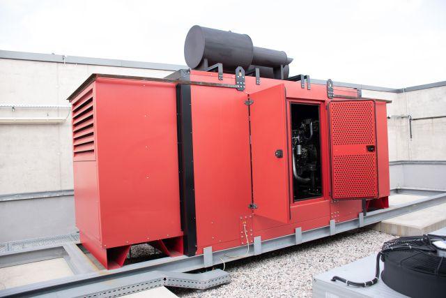 Kapota motorgenerátoru (speciální odhlučnění, Silektro)